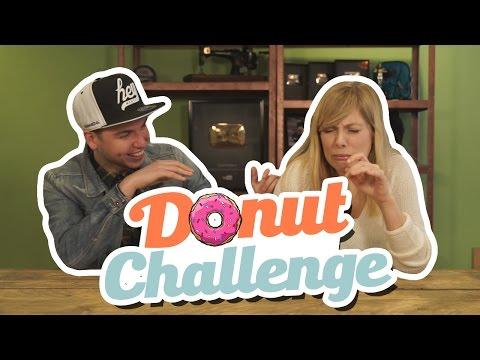 DONUT CHALLENGE!