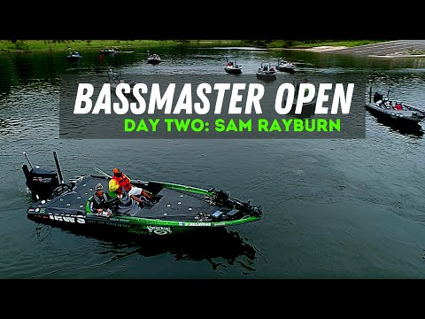 Bassmaster Open: Sam Rayburn Day 2! (Day In The Life Of A Bassmaster Pro) Dealing With Adversity!