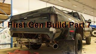 Video First Gen Dodge Cummins Build: Part 7 (Mud Flaps & Paint) download MP3, 3GP, MP4, WEBM, AVI, FLV Juli 2018