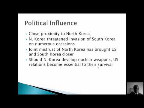 S. Korea Politics and Corruption