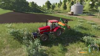 Farming Simulator 19 - DAY 9 LIVE Gameplay | Harvesting fields in heavy rain