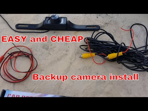 How to install a Backup camera on Dodge Ram