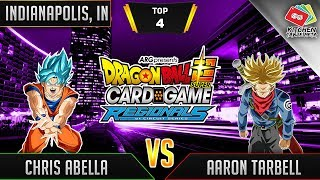 Dragon Ball Super Card Game Gameplay [DBS TCG] Indianapolis Regional Top 4 (Match 1)