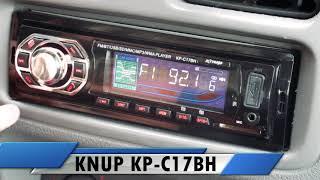 Ajustando Relógio do MP3 Player Knup KP-C17BH c/ Bluetooth - Canal ClickSound