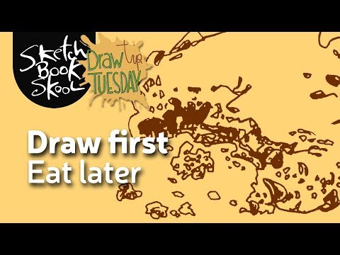 Draw First, Eat Later