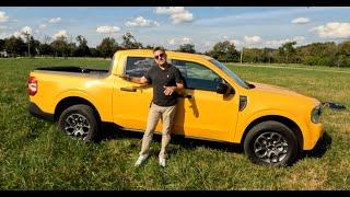 Camioneta y también con CVT •  2022 Ford Maverick