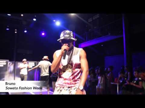 Bruno performs 'Ngiyabonga (Dankie)' at the 2014 Soweto Fashion Week