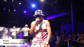 Bruno performs 'Ngiyabonga (Dankie)' at the 2014 Soweto Fashion Week