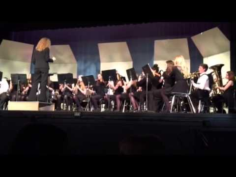 West Orient Middle School band concert 8th grade