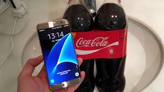 Samsung Galaxy S7 Edge | Test de la CocaCola ¿sobrevivirá?