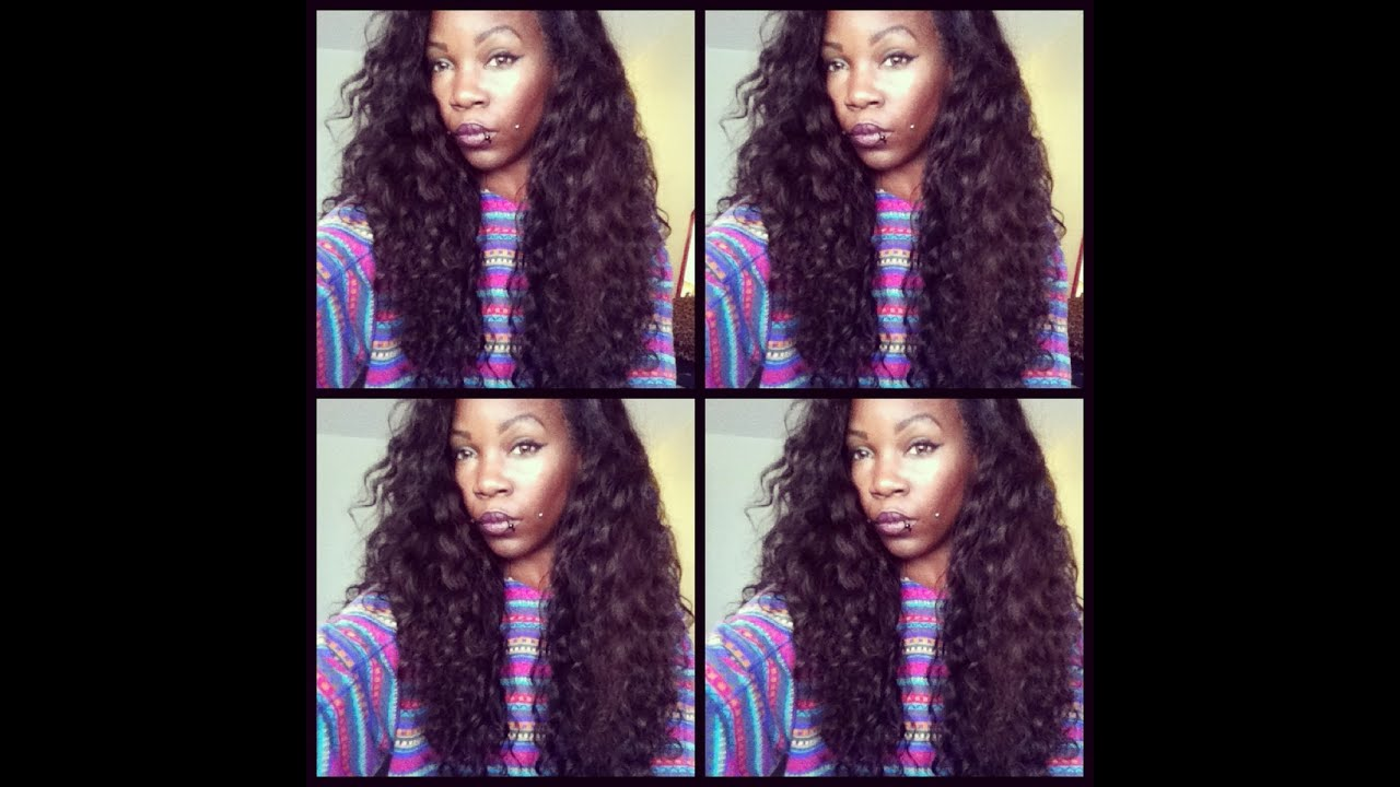 Glamdivaz Hair Does Malaysian Deep Wave Curl Back Up