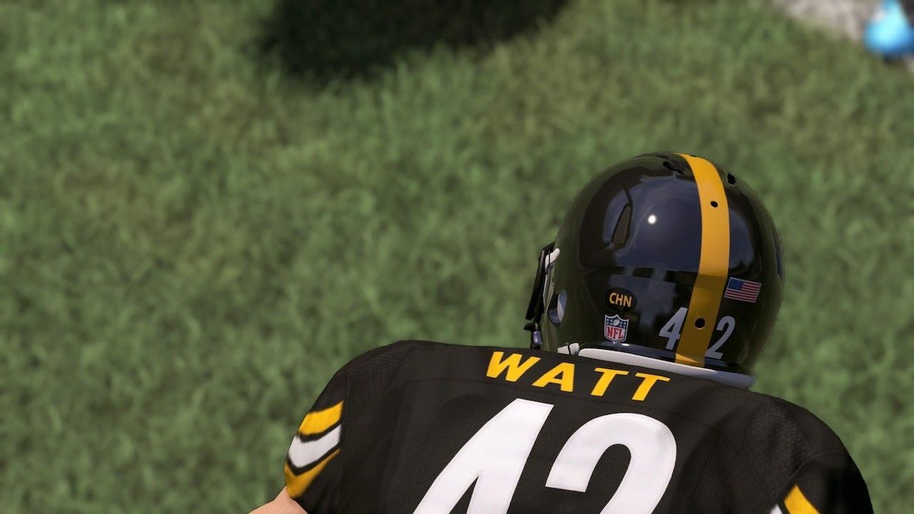 super popular effe4 4d197 First Look at TJ Watt as a Steeler | Madden NFL 17 Gameplay