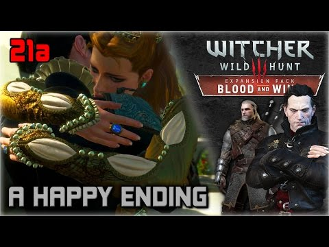 WITCHER 3 Blood and Wine Walkthrough Part 21a ► A Happy Ending | SERIES FINALE