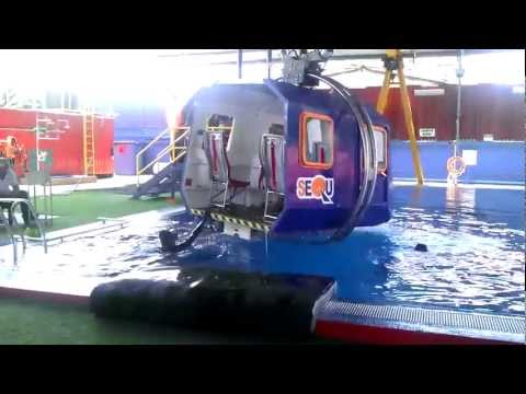 Helicopter Underwater Escape Training (HUET) with EBS at SEQU Offshore Malaysia