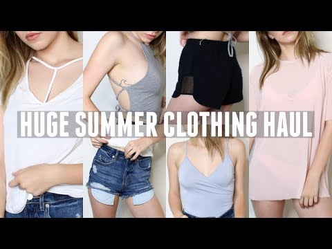 HUGE SUMMER CLOTHING HAUL 2017 | Griffin Arnlund