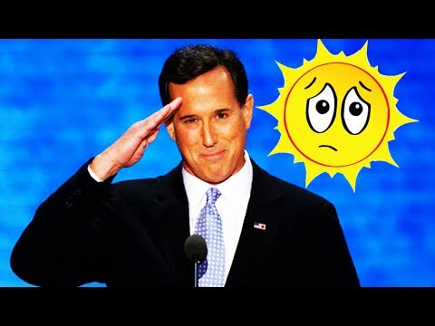 Rick Santorum Says the Sun Is