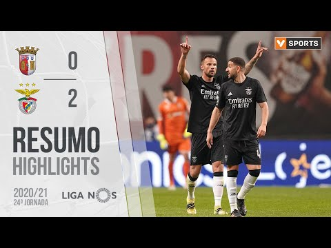 Braga Benfica Goals And Highlights