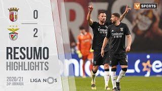 Highlights   Resumo: SC Braga 0-2 Benfica (Liga 20/21 #24)