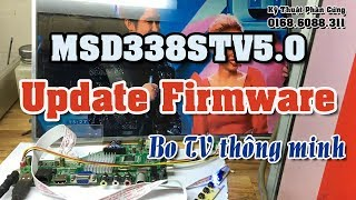 MSD338STV5.0 Update Firmware, Select language, Install App