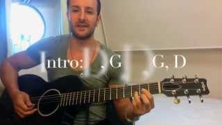 The Vamps - Somebody To You - EASY CHORDS TUTORIAL - No Capo - ft. Demi Lovato