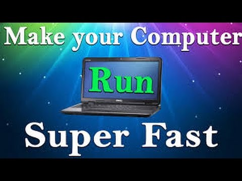 how to make computer run smoother