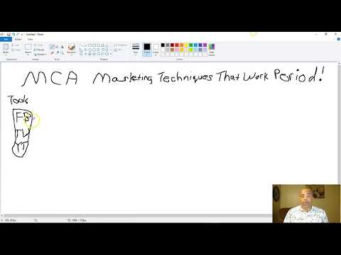 MCA Marketing Techniques That Work Period!