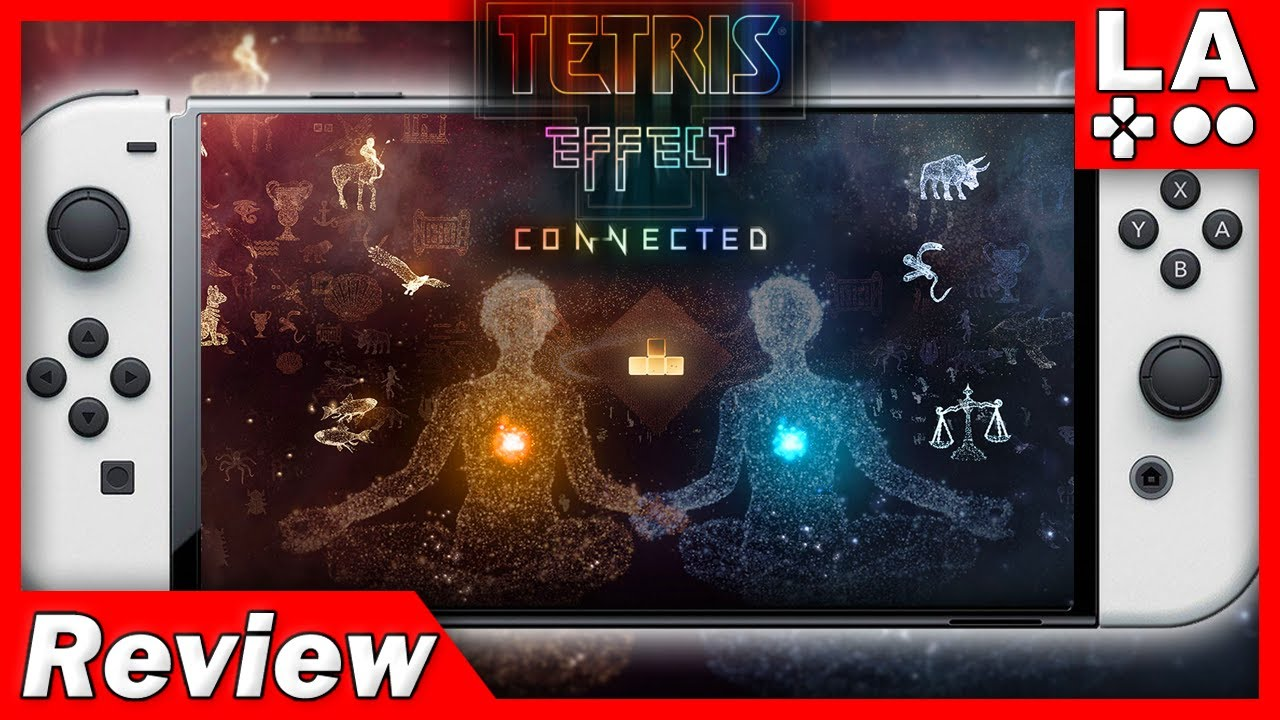 Tetris Effect Connected Nintendo Switch Review (Video Game Video Review)