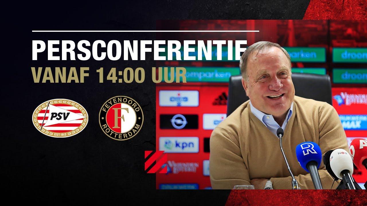 Persconferentie Voor PSV - Feyenoord - YouTube
