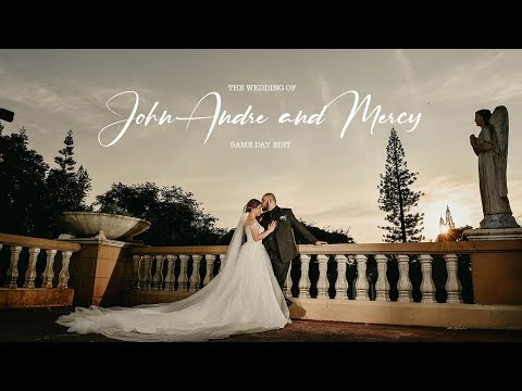 John Andre and Mercy | On Site Wedding Film by Nice Print Photography