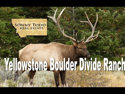 Montana Hunting Ranches For Sale Yellowstone Boulder Divide Ranch Big Timber MT