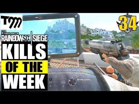 Rainbow Six Siege - Top 10 Kills of the Week #34 (Siege Highlights)