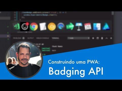 Curso PWA #13 - Badging API