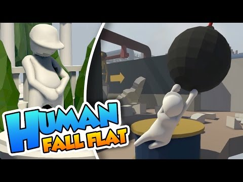 El nivel de Miley Cyrus!! - Human Fall Flat con Naishys (PC 60FPS)