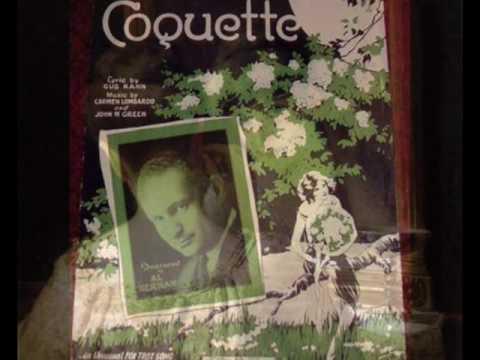 """Guy Lombardo """"COQUETTE"""" (1928)"""