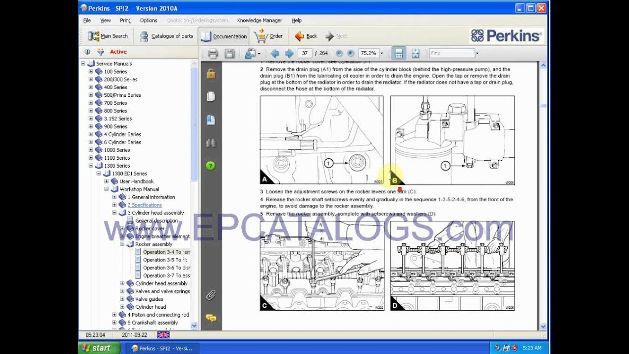 maxresdefault perkins engine repair manuals youtube perkins generator 1300 series ecm wiring diagram at bakdesigns.co