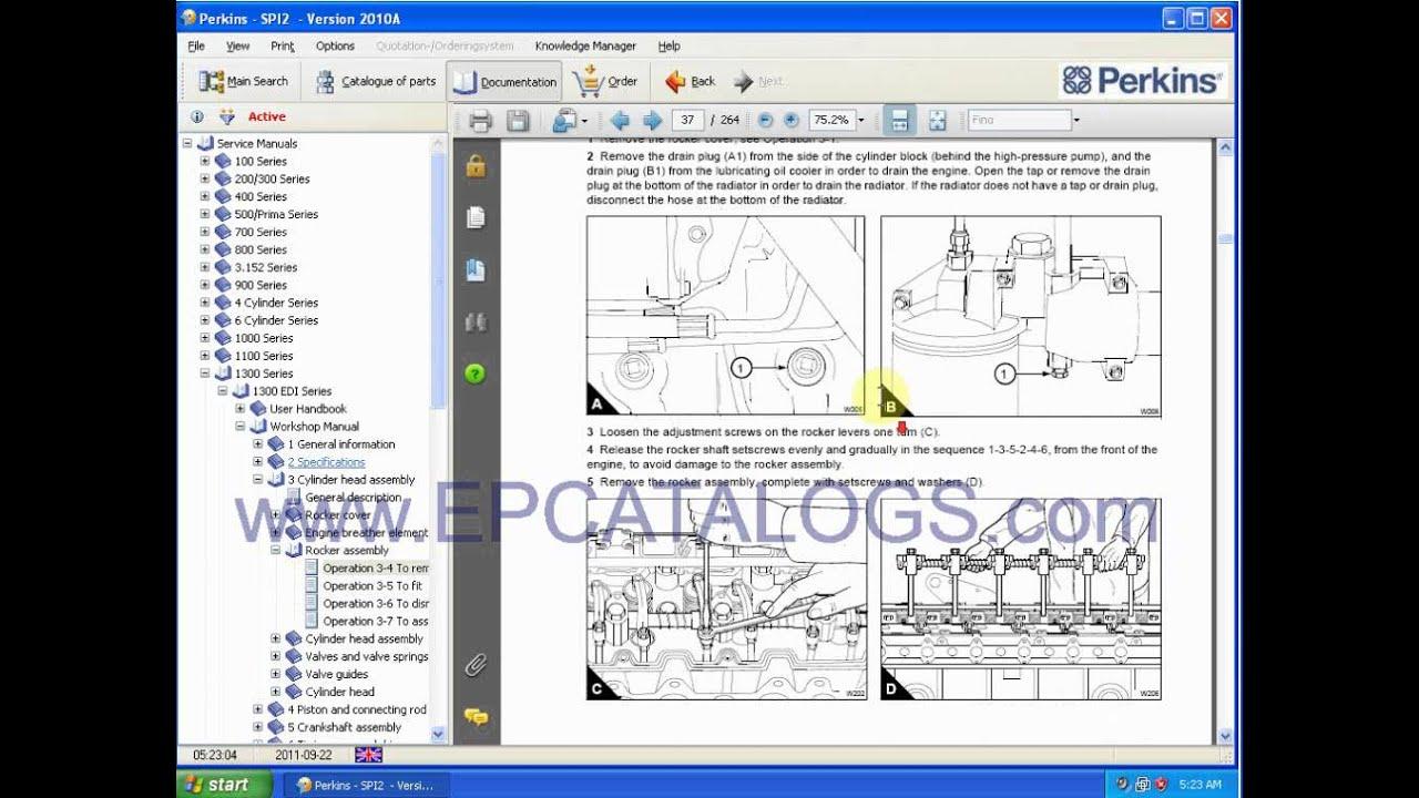 perkins engine repair manuals [ 1280 x 720 Pixel ]