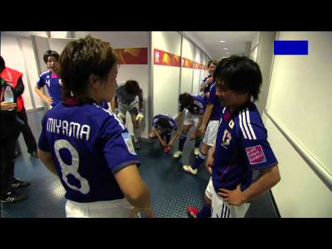 Japanese Women's National Football Team.