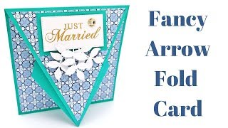 Arrow Fold Card | Original Design