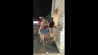 Girl tried to run over guy at ihop lake jackson, and proceeded to attack him!