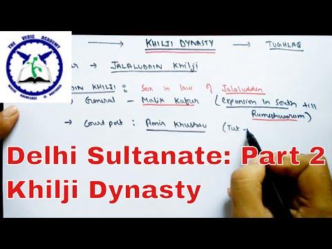 Delhi Sultanate: Part 2 | Khilji Dynasty | SSC CGL | The Vedic Academy
