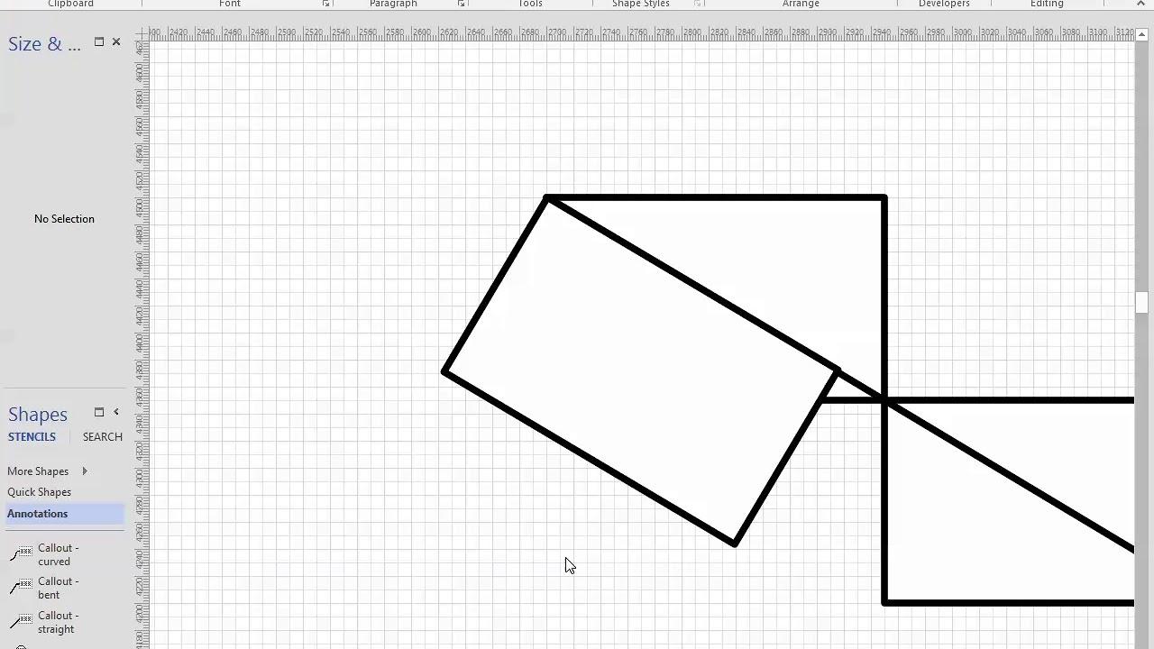 Microsoft Visio 05 Visio Stair Drawing