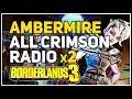 Ambermire All Crimson Radio location Borderlands 3