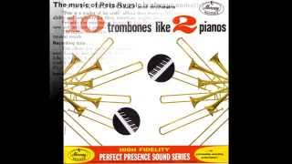 PETE RUGOLO and orchestra - 10 trombones like 2 pianos  / side 1