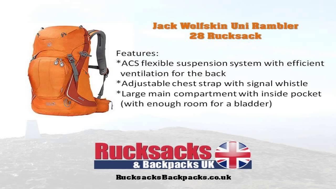 aktuelles Styling klar in Sicht exquisites Design Jack Wolfskin Uni Rambler 28 Rucksack Review