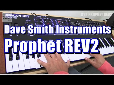 Dave Smith Instruments Prophet REV2 Demo & Review