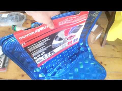 Covorase auto tuning albastre – www.MotorVIP.ro 0748405954