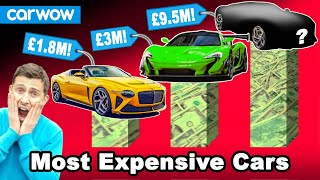 The 18 most expensive new cars!