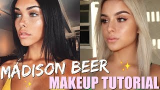 MADISON BEER INSPIRED MAKEUP TUTORIAL | Aidette Cancino