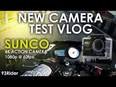 New Camera Sucon 4k Testing Vlog | Message for NEW MOTOVLOGGERS | Manali Trip | 93Rider | Ludhiana |