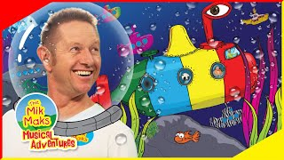 The Submarine Song | Kids Songs and Nursery Rhymes | Learn Colors | The Mik Maks